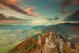 Autumn in Sulov mountains